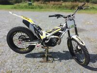 TRS ONE TRIALS BIKE 250CC - 2018 ONLY HAD VERY LIGHT USE - VERY GOOD CONDITION - NO DINGS