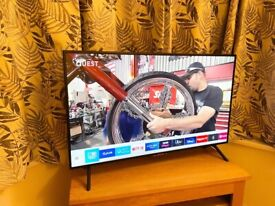 "SAMSUNG 49"" 4K ULTRA HD SMART TV,EXCELLENT CONDITION FULL WORKING ORDER £290 NO OFFER CAN DELIVER"