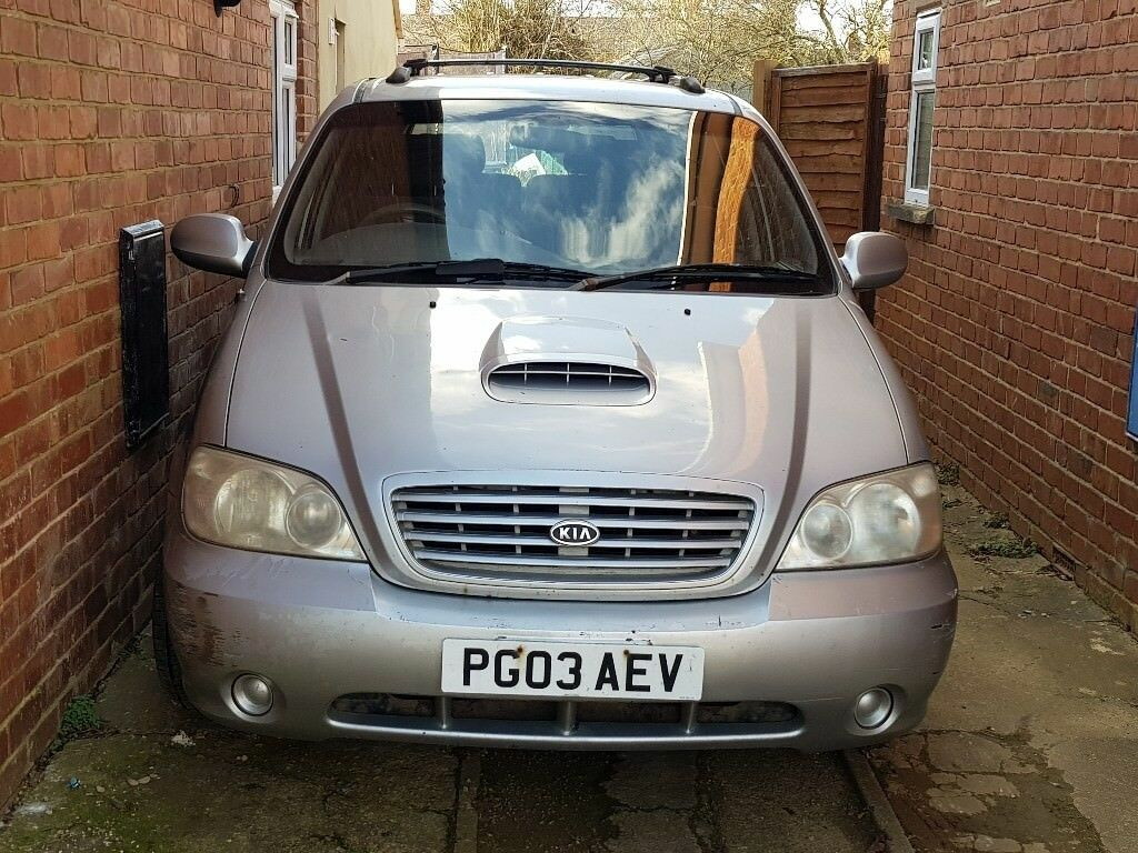 Kia Sedona For Sale 2900cc 2003 Mot June 2018 Fair Condition Dash Sold