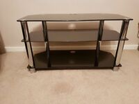 Quality glass tv stand