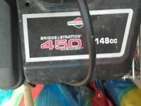 148cc rotavator