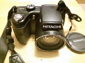 Hitachi 16MP Bridge Camera - Black. HBC 161E 16 MegaPixel 21x Optical Zoom