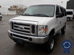 2014 Ford Econoline Wagon E-350 XLT 12 Passenger 4X4 Van