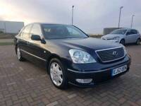 LEXUS LS430 12 MONTHS M.O.T FULL LEXUS STAMPED SERVICE HISTORY