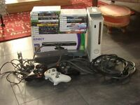 Xbox360 20games,kinect,3 wireless controlers not banned(free 2ndXbox360)