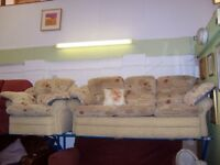 3 seater sofa and armchair at Cambridge Re-Use (cambridge reuse)