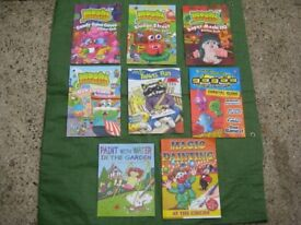 Eight Children's Assorted Activity Books for £7.00