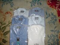 Mens 17 inch shirts x 6