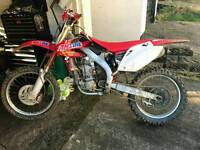 Swap honda crf450 05