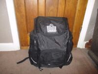 Admiral black large backpack