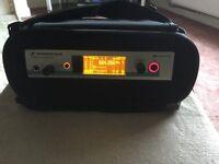 Sennheiser ew300 G3 in ear monitoring system + new gig bag