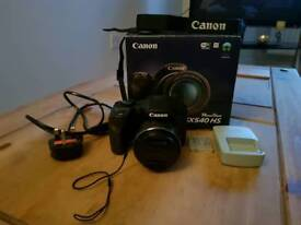 Canon Powershot SX540 HS Bridge Camera in Black