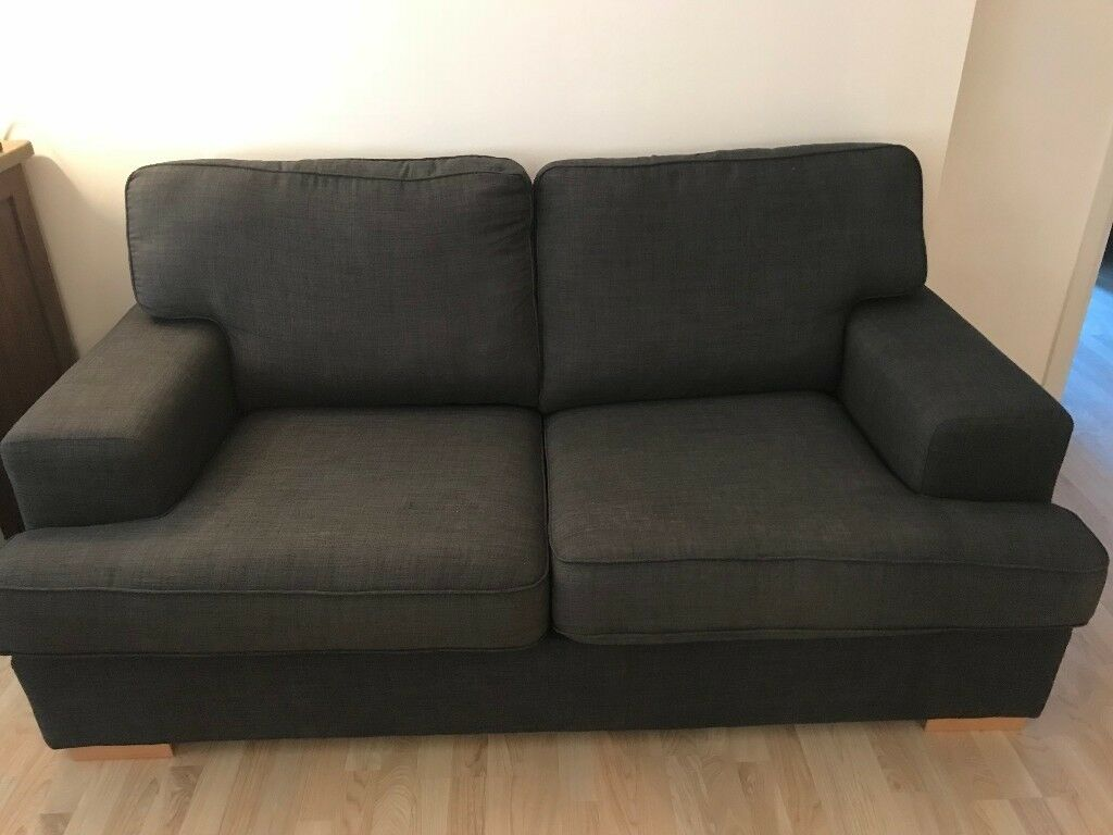 Ex-DFS Ludo: 2 Seater Sofa Bed