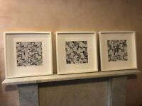 3 IKEA picture frames