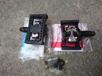 Shimano SPD/Flat pedals