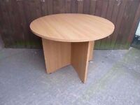 Round Dining Table Delivery Available £10