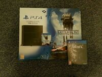 Playstation 4 1TB (PS4) w/two games