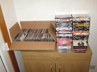 LARGE COLLECTION / JOB LOT OF VARIOUS CDs AND DVDs