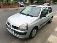 GENUINE LOW MILES 45000,RENAULT CLIO AUTOMATIC 1.4,FULL HISTORY,LONG MOT,SUNROOF,2 KEYS