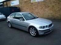2002 52 Reg BMW 320D Compact 2.0 Turbo Diesel 150 bhp , Manual , 3 door hatchback , 12 Months Mot ,