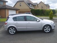 VAUXHALL ASTRA 1.6 DESION 08 REG MOTD FULL LEATHER £2295