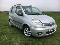 2004 TOYOTA YARIS VERSO 1.3 T SPIRIT,PETROL !!!!! AUTOMATIC!!!!!! 12 MONTHS MOT 1 OWNER CAR