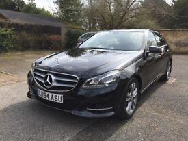Mercedes Benz E220 CDI SE BLUETEC Auto Black 2014 (64 Plate)