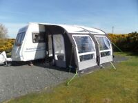 Kampa Rally AIR Pro 330 Caravan Awning complete with carry bag