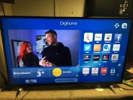 "Digihome 50"" Smart Tv Full hd 250 NO OFFERS"