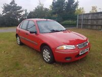 Rover 214 Si **ONLY 41,000 MILES**MOT UNTIL APRIL 2017**