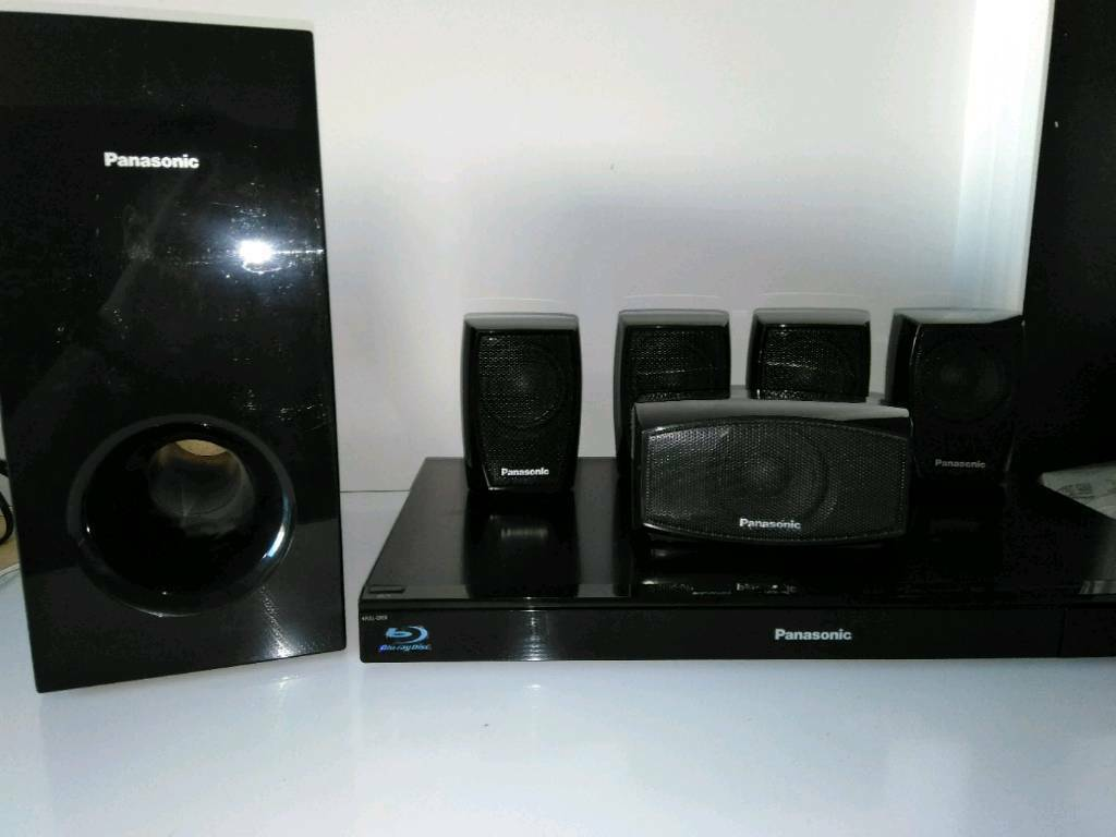 Panasonic blu-ray surround sound ipod.