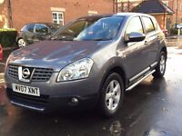 2007 NISSAN QASHQAI ACENTA 1.5 DIESEL 2WD - 11/17 MOT- 1 OWNER- FULLY SERVICED-PART EXCHANGE WELCOME