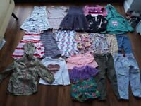 Girl's age 3-4yrs clothes bundle - £20