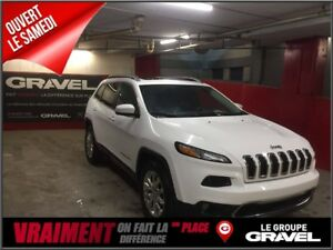 2016 Jeep Cherokee Limited - CUIR - TOIT PANORAMIQUE