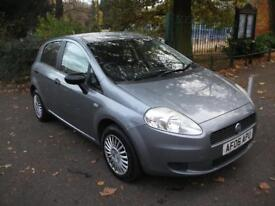 FIAT GRANDE PUNTO 1.2 Active 5dr 12 MONTHS WARRANTY ++ 3 MONTHS WARRANTY NATION WIDE (grey) 2006