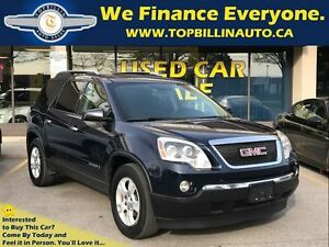 2007 GMC Acadia with SUNROOF, 2 YEARS WARRANTY
