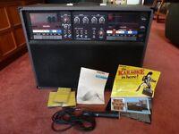 Karaoke machine/amplifier