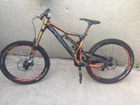 Cube two15 pro downhill bike