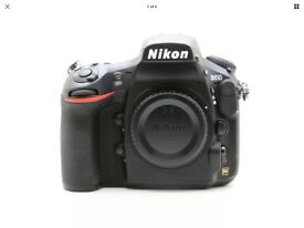 Nikon 810 Brand new, BODY ONLY Boxed with instructions and warranty card