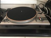 Dual 505 record player and stereo equipment