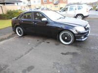 Lovely C200 Mercedes Diesel For Sale. Great bodily and mechanically.