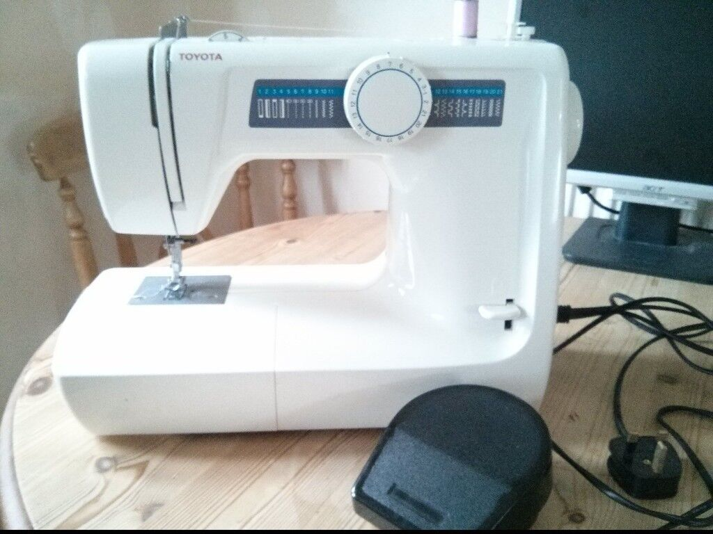Toyota Sewing Machine Model KB14 RS2000 Series