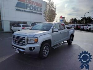 2015 GMC Canyon All Terrain 4x4 w/WiFi Hotspot, Remote Start