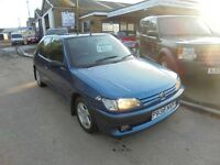 1996 p peugeot 306 d turbo, 1 owner, trade in bargain to clear. 30 + cars in stock.