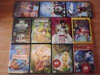 Disney Child 11 DVDs Bundle