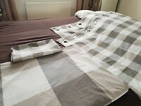 Kingsize Duvet Sets x2 and matching Curtains from Next