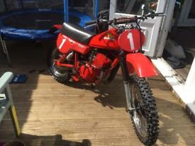 1980 CR80 Elsinor Red Rocket road legal Very Rare