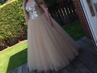 Stunning once worn Sherri Hill ball gown/ prom dress size 12