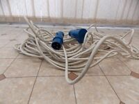Electric hook up wire
