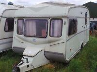2 Berth Vintage Classic Castleton Caravan